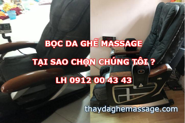 Bọc da ghế massage tại sao chọn chúng tôi