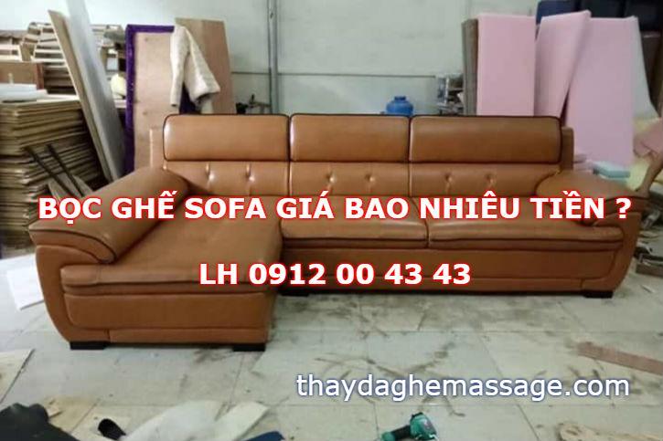 Bọc ghế sofa gia bao nhiêu tiền