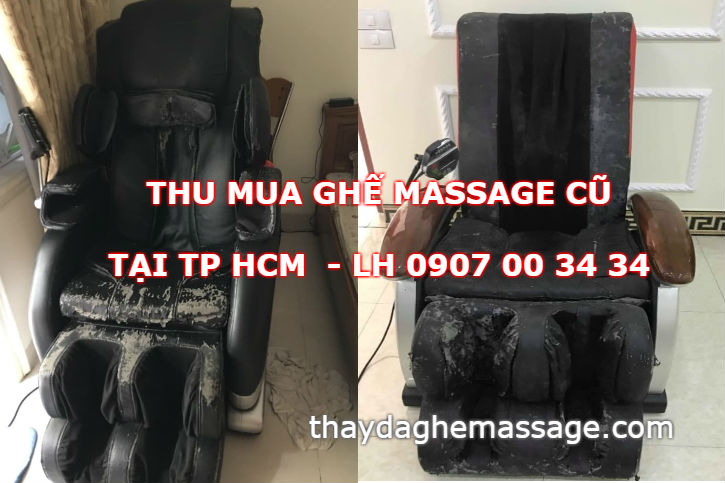 Thu mua ghế massage cũ hư hỏng tại TP HCM