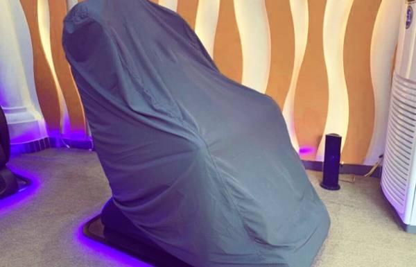 Áo trùm ghế massage giải pháp cho việc mua ghế về bỏ xó