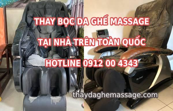Tại sao khách hàng hỏi giá bọc ghế massage bao nhiêu tiền