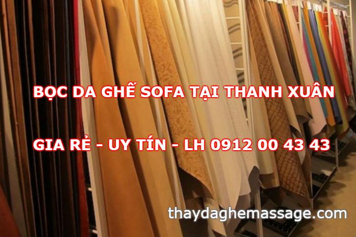 Bọc ghế sofa tại Thanh Xuân