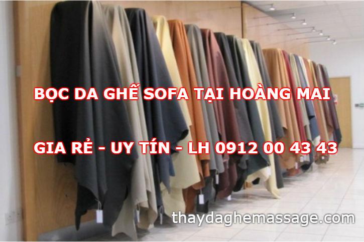 Bọc da ghế sofa tại Hoàng Mai