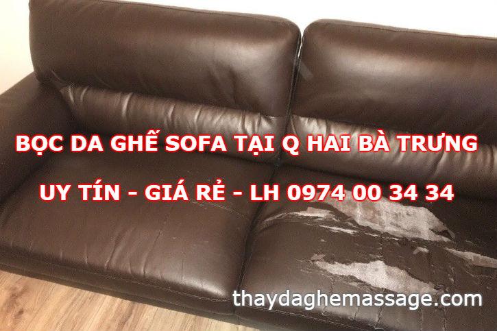 Bọc da ghế sofa tại Hai Bà Trưng