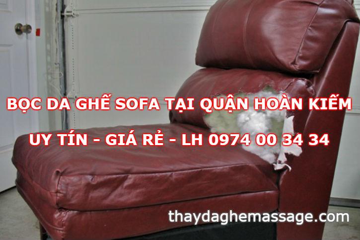 Bọc da ghế sofa tại Quận Hoàn Kiếm