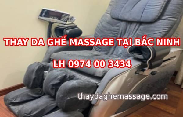 Thay da ghế massage tại Bắc Ninh