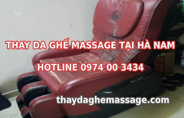 Thay da ghế massage tại Hà Nam