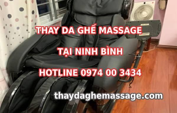Thay da ghế massage tại TP Ninh Bình