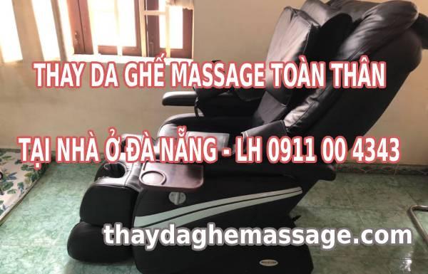 Thay bọc da ghế massage tại Đà Nẵng